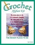 The Nicest Place To Be Crochet Afghan Kit