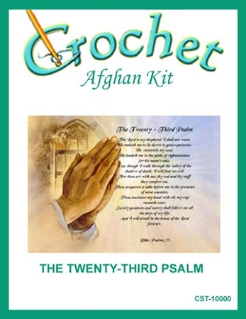 The Twenty-Third Psalm Crochet Afghan Kit