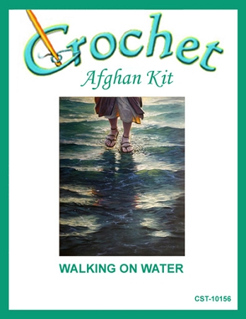 Walking On Water Crochet Afghan Kit
