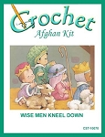 Wise Men Kneel Down Crochet Afghan Kit