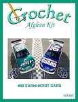 #88 Earnhardt Cars Crochet Afghan Kit