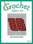 #88 Earnhardt Crochet Afghan Kit