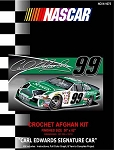 Carl Edwards Signature Car Crochet Afghan Kit