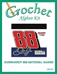 Earnhardt #88 National Guard Crochet Afghan Kit