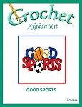 Good Sports Crochet Afghan Kit
