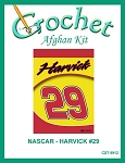 Nascar- Harvick #29 Crochet Afghan Kit
