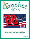 National Guard Nascar Crochet Afghan Kit