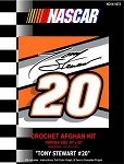 Tony Stewart #20 Crochet Afghan Kit