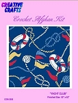 Yacht Club Crochet Afghan Kit