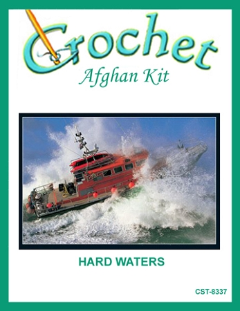 Hard Waters Crochet Afghan Kit