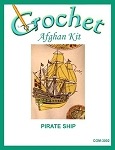Pirate Ship Crochet Afghan Kit
