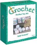 Baby Blocks Stuffed Toy Crochet Kit