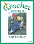 Choo Choo Train Stuffed Toy Crochet Kit