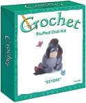 Eeyore Stuffed Doll Crochet Kit