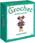Minnie Mouse Stuffed Doll Crochet Kit