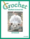 Opossum Stuffed Animal Crochet Kit
