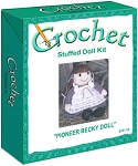 Pioneer Becky Doll Stuffed Doll Crochet Kit
