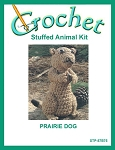 Prairie Dog Stuffed Animal Crochet Kit