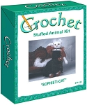 Sophisti-Cat Stuffed Animal Crochet Kit