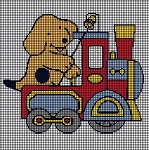 Firetruck Dog Crochet Pattern