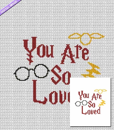 You are so Loved Crochet Pattern
