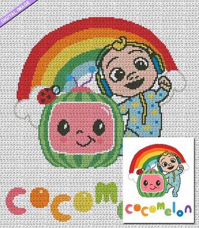 Cocomelon Crochet Pattern