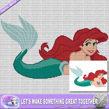 Beautiful Mermaid Crochet Pattern