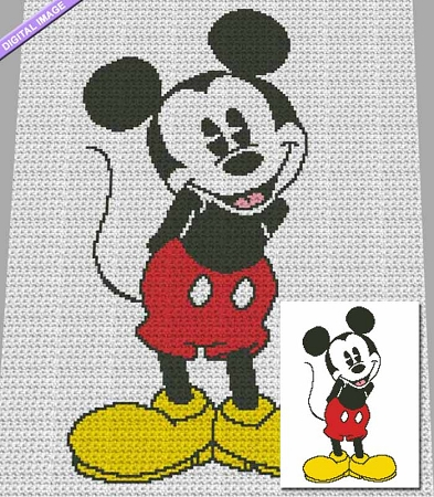 It's Mickey Crochet Pattern