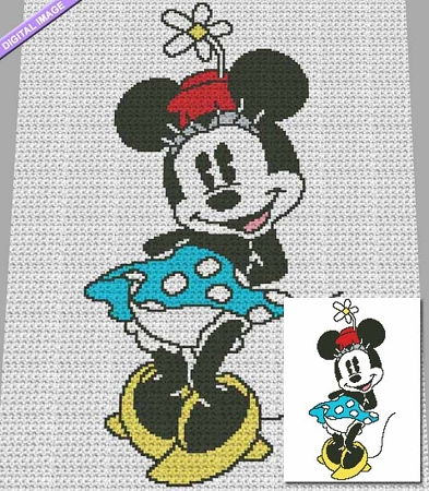 It's Minnie Crochet Pattern