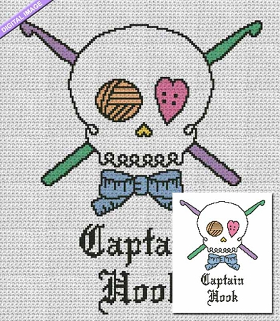 Captain Hook Crochet Pattern