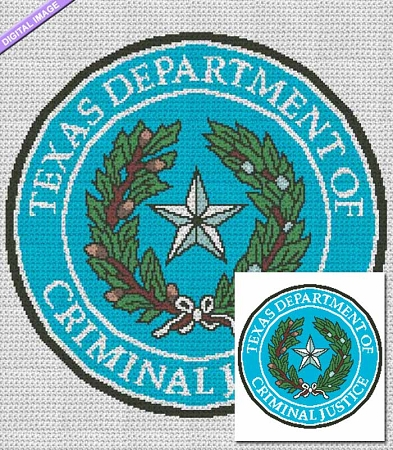 Department of Criminal Justice - TX Crochet Pattern