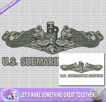 US Submarine Service Crochet Pattern