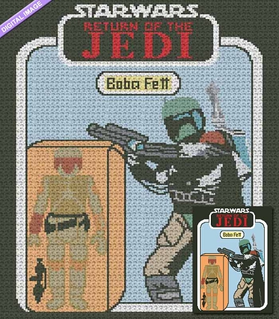 Boba Fett Action Figure Crochet Pattern