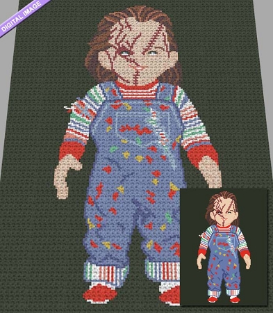 It's Chucky Crochet Pattern