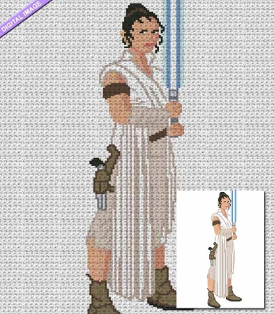 Skywalker - Rey Crochet Pattern