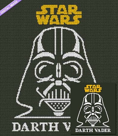 Star Wars - Darth Vader Crochet Pattern