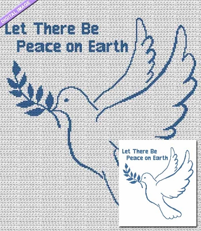 Peace on Earth Dove Crochet Pattern