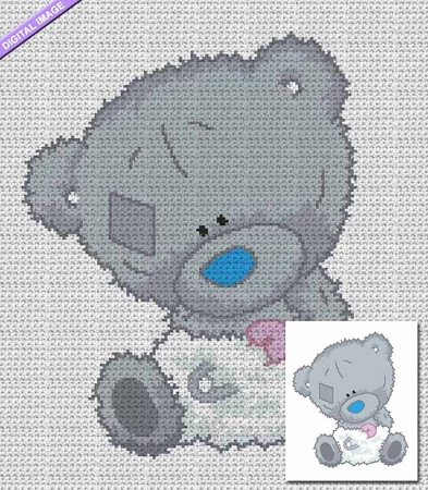Tatty the Teddy Crochet Pattern