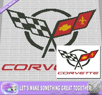 Corvette Flags Crochet Pattern