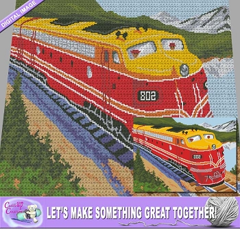 Train #802 Crochet Pattern