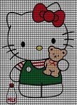 Hello Kitty Milk Crochet Pattern