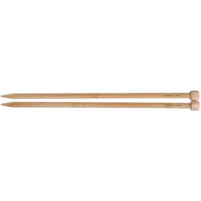 "Clover Bamboo Single Point Knitting Needles 13"" – 14"" Size - 4"