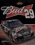 Kevin Harvick Bud Signature Car Crochet Pattern