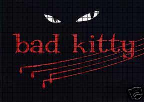 Bad Kitty Eyes Crochet Pattern