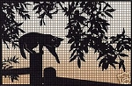 Cat On The Fence Crochet Pattern