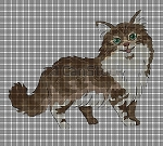 Friendly Main Coon Crochet Pattern