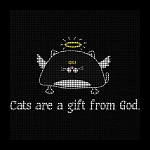 Cats Are A Gift Crochet Pattern