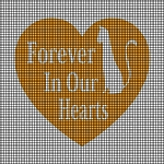 Forever In Our Hearts Kitty Crochet Pattern
