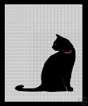 Single Black Cat Crochet Pattern