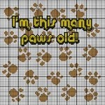 This Many Paws Old Crochet Pattern